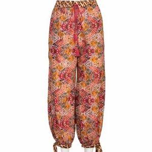 Anthropologie Joanie Harem pants, Moroccan/cheetah